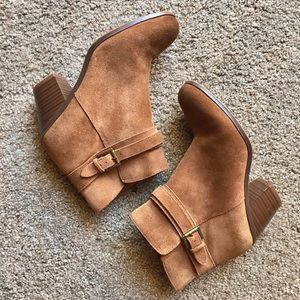 Sam Edelman Chestnut Brown Booties 7m